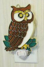 OWL NIGHTLIGHT (BIRD SUNCATCHER LIGHT)