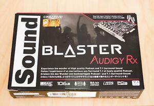 Creative Sound Blaster Audigy RX 7.1 PCIe Soundkarte, Händler