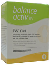 BALANCE ACTIV BV GEL -ABNORMAL VAGINAL ODOUR NEUTRALISER- 7xHYGIENIC APPLICATORS