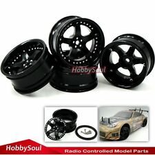 4pcs New RC 1/10  Super Alloy Rims Wheels For Drift On-road touring upgrade Part