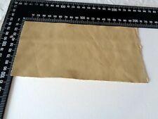 Brand New BEIGE 20x10cm,1 Piece GENUINE LEATHER-SCRAPS, OFF CUTS for CRAFTS