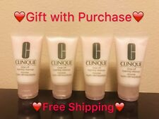 Clinique Rinse off Foaming Cleanser 1 oz.×4 tube=4 oz./ 120ml Travel Size