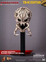Hot Toys MMS162 Predators Classic Predator 14 inch Figure Special Edition New