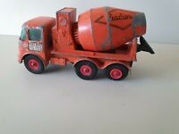 Matchbox Series King Size No:13 ERF Ready-mix Concrete Truck vintage toy car
