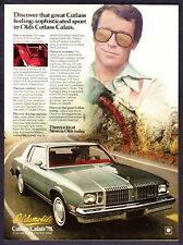 1978 Oldsmobile Cutlas Calais Coupe photo Great Road Car vintage print ad