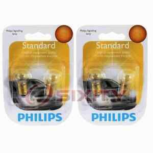 2 pc Philips Map Light Bulbs for Sterling 825 1987-1988 Electrical Lighting qj