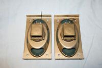 2 Lautsprecher Hochton 105.1103 von 1956 - Röhrenradio Loewe Opta Apollo     #03