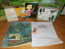 New listing Vintage Singer Buttonholer with Singer Manuals Zig Zag Touch Sew 102577 Orig Box