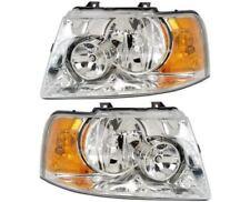 THOR MOTOR PALAZZO 2013-2015 PAIR HEADLIGHTS HEAD LAMPS FRONT LIGHTS RV