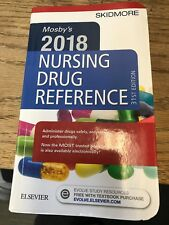 Mosby's  2018 Nursing Drug Reference 31st edition