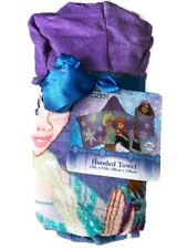 Jay Franco Frozen Snowflake Hooded Towel Bedding