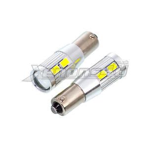 H6W 434 Bax9s Canbus Error Free 8 5630 & 5W LED Parking Side Light Bulbs White