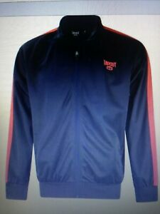 Tapout Mens Zipped Track Jacket Tracksuit Top Coat Zip Elasticated Trim Cuffs