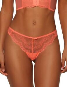 Gossard Superboost Lace Thong 7716 Womens Semi-Sheer Thongs