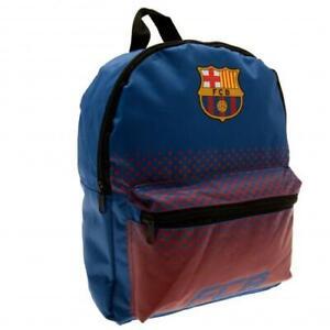 FC Barcelona Junior Backpack School Bag Burgundy Rucksack Outdoor