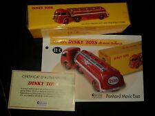 Camion Panhard Movic citerne Esso  Ré-édition Dinky Toys