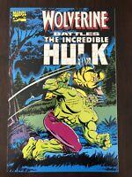 Wolverine Battles The Incredible Hulk Tpb Reprint Hulk 180-181  NM/NM+ 1st Print