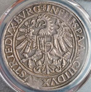1564, Austria, Emperor Ferdinand I. Silver Thaler Coin. Very Rare! PCGS XF-45!