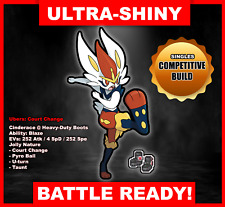 Pokemon Sword/Shield Ultra Shiny Battle Ready Cinderace FAST DELIVERY