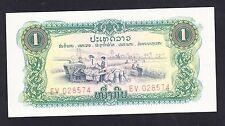 Lao 1 Kip UNC P. 19Aa,   Banknotes, Uncirculated