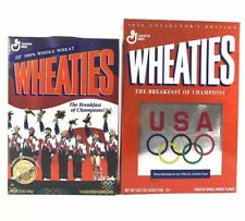 2 Wheaties Cereal USA OLYMPIC TEAM 1996 Collectors Edition Gold Medal Gymnastics