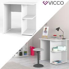 VICCO Schreibtisch Weiß PC Tisch Arbeitstisch Computer Kinderschreibtisch Büro
