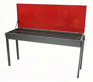 LARGE CHARCOAL CATERING COMMERCIAL OUTDOOR BBQ GRILL