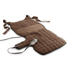Sunbeam 889-760-BRN Renue Back & Body Warming Heating Pad Chocolate Brown