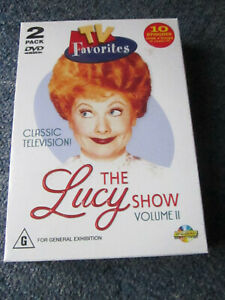 DVD TV FAVOURITES THE LUCY SHOW 2 DVD PACK NEW SEALED  GREAT  *** MUST SEE ****