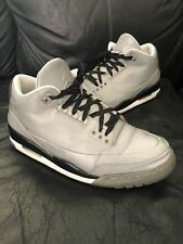 Nike Air Jordan 3 5LAB3 REFLECTIVE SILVER Sz 11.5 3M bred cement NRG off white