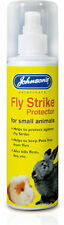 Johnsons Fly Huelga Protector 150ml - Spray Para Animales Pequeños Conejo Cobaya