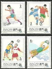 Macau - Fußball-Weltmeisterschaft, USA Satz postfrisch 1994 Mi. 759-762