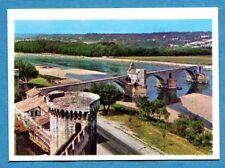 LA TERRA - Panini 1966 - Figurina-Sticker n. 187 - PONTE SUL RODANO AVIGNONE-Rec
