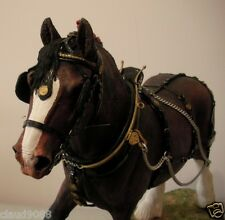 "BORDER FINE ARTS""THE CHAMPION SHIRE BROWN LIMITED EDITION - HORSE"" B0888A   MIB"