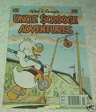 Walt Disney's Uncle Scrooge Adventures 41, NM- (9.2) 1996, The Starkos Statue!