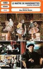 FICHE CINEMA : LE MAITRE DE MARIONNETTES - Hou Hsiao Hsien 1993 Puppetmaster