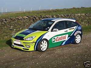 FOCUS - WORLD RALLY CAR GRAPHICS / DECALS