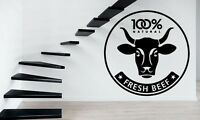 Wall Stickers Vinyl Decal Grocery Store Fresh Beef ig243