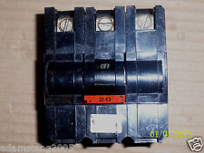 FPE federal pacific NA NA320 3 Pole 20 Amps Circuit Breaker CHIPPED