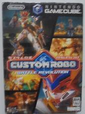 Custom Robo Battle revolución Nintendo GameCube japón importación ntcsj