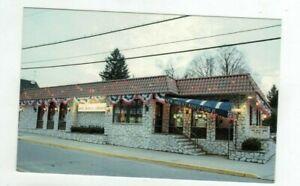 NY Mt. Kisco New York vintage post card - Mt. Kisco Coach Diner - Restaurant