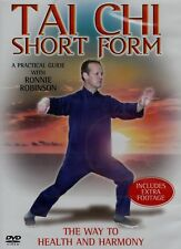 TAI CHI SHORT FORM. THE WAY TO HEALTH AND HARMONY. NEW DVD