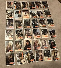 PLANET OF THE APES TV Show 1967 Apjac Topps 66 Card Set Complete