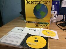 Rosetta Stone German Deutsch Level 2 CD for PC, Mac