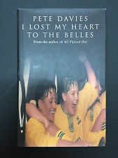 I LOST MY HEART TO THE BELLES DONCASTER LADIES FOOTBALL BOOK BY PETE DAVIES WSC