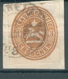 Braunschweig Kleines Briefstück Mi.-Nr.20A o (MICHEL EURO 200,00)