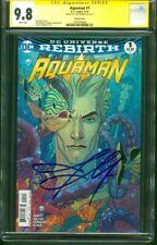 Aquaman 1 CGC SS 9.8 Jason Momoa Signed Middleton Variant Justice League Movie