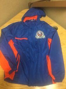 RARE Men's 40th Anniversary New York Islanders Blue Jacket Small NHL Hockey NY