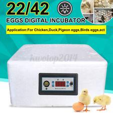 22/42 Egg Incubator Hatcher Automatic Digital Temperature Control   NEW