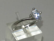Solitaire Natural Round I2 Fine Diamond Rings